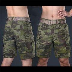 CP Military Shorts Multicam Knee Length Short Pants for Trainning Camouflage Ripstop Shorts Army