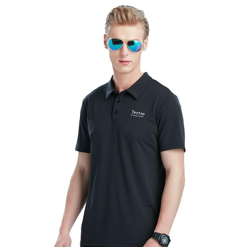 457f1e4e08fa6 Item specifics  Seller SKU xcXseuOi4f3  Brand  Tectop New Summer Men Quick  Dry Short-sleeve Polo T-shirts Male Elastic Breathable ...
