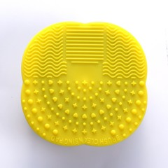 Brush Cleaner Mat Washing Tools Make Up Washing Brush Gel Cleaning Mat Scrubber Board Cleaner Pad