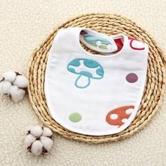 Baby bibs Burp Bandana six layers of gauze Anti-spitting saliva towel Burp Cloth Pure cotton bibs