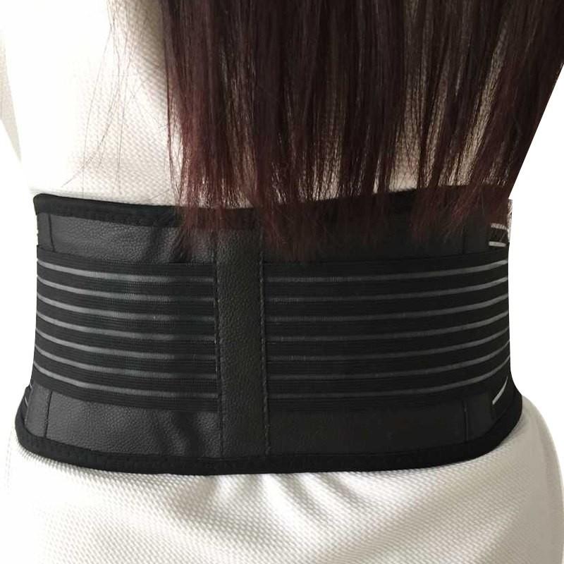 ddce3cf1c0d Tourmaline Self-heating Magnetic Therapy Waist Belt Lumbar Support ...