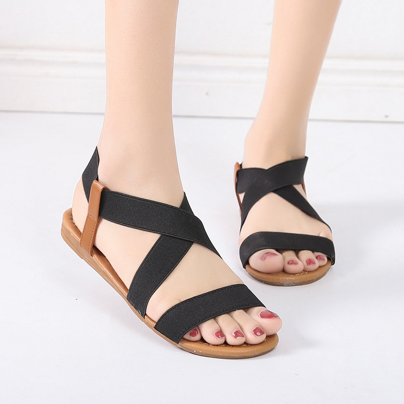 9deaa61c28a 2019 Women s Sandals Spring Summer Ladies Shoes Low Heel Anti Skidding  Beach Shoes black 41  Product No  11778438. Item specifics  Seller  SKU fhfdhht7hdf ...