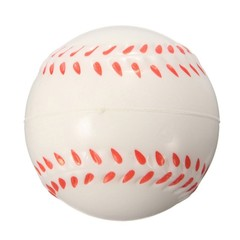 Quality PU Foam Fitness Hand Wrist Ball Exercise Stress Relief Squeeze Baseball Body Building Rel