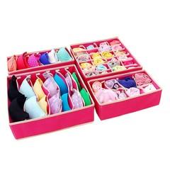 Bra Underwear Storage Socks Shorts Boxes Bra Box Necktie Socks Storage Organizer Organizador Fabr