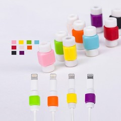 Silicone Cable Organizer Office Stationary Desk Set Accessories Supplies USB Data Wrap Cord Winde