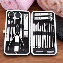 in 1 Professional Stainless Steel Nail Clipper Travel Grooming Kit Nail Tools Manicure Pedicure S