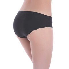 Womens Invisible Underwear Thong Cotton Spandex Gas Seamless Crotch M/L Good Quality comfortable
