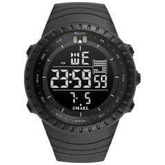 Top Brand Mens Watches Sport Military Watch Double Display Waterproof 50M LED Digital Wristwatch