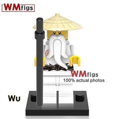 Movie LEGOINGLY Ninjagoes Iron Baron Lloyd Chew Toy Master Golden Dragon Muzzle Building Blocks B