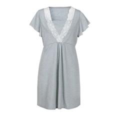 Women Mother Maternity Dress Casual Cotton Breastfeeding Nursing Dress Nursing Baby For Maternity