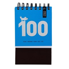 New Memo Pad Notebook 100-Day Plan Desk Calendar Plan Notebook Regular Agenda Home Office School