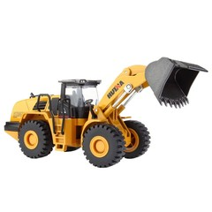 Loader Alloy Engineering Vehicle Model 1: 50 Loader Shovel Truck Toys  Metal Castings Toy Vehicle