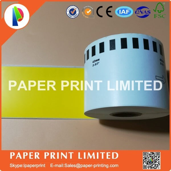 Refill Rolls Compatible DK-44605 Label 62mm*30.48M Continuous Compatible for Brother Label Printe