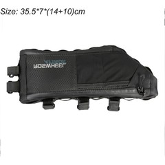 ATTACK Series Bicycle Bag Top Front Frame Tube Triangle Bag 4L 100% Waterproof Outdoor Bike Acces