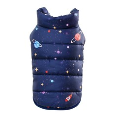 Clothes Autumn Winter Warm Vest Coat for Small Medium Dogs Puppy Down Jacket Hoodies Cosmic Lands