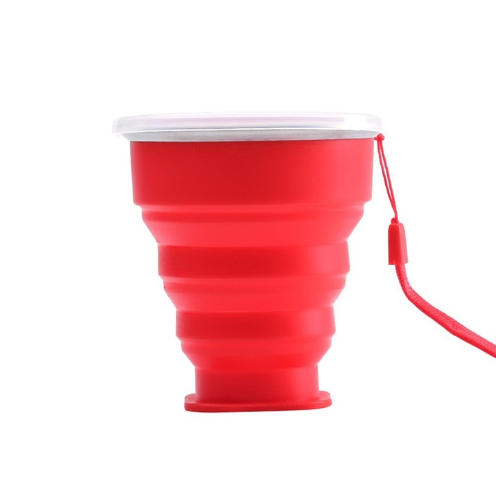 Pc Collapsible Water Bottle Practical Multifunction Silicone Water Cup Portable Bottle For Biking