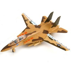 F-14 The Panda Fighter Alloy Aircraft Model Pull Back Simulation Sound Photoelectric Children Boy