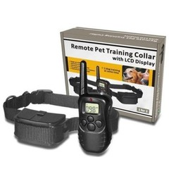 Dog Collar Remote Control Anti Bark Dog Shock Training Collar With LCD Display Electronic Dog Col