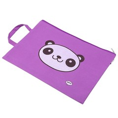 Stationery Organizer School Supplies Stationery PVC Document Bag File Folder Canvas Cute Animals