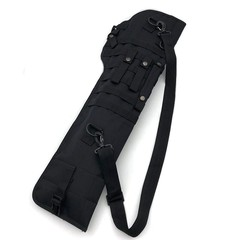 Tactical AK Rifle Scabbard Molle Shoulder Bag Military Shoulder Sling Portable Padded  Holster Kn