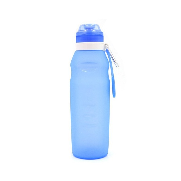 Folding Water Bottle Outdoor Sports Supplies Portable Water Bottle Large Capacity Creative Travel