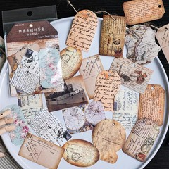 pcs/pack Romantic Memory Decorative Memo pads Scrapbooking Stick Label Diary Stationery Album Sti