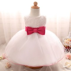 Girl Tulle Dress White Fluffy Tutu Dress with Bow Princess Girl Pageant Frocks Party Prom Lace Dr 3M Blue