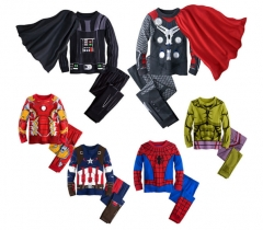 Boys Clothing Sets Long sleeve Cosplay Hoodies+Pant Baby Kids Sports  Suits 2pcs Cuasal Children 1 90CM