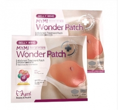 30 Days10Pc  Patch Quick Slimming Patch Belly Slim Patch Abdomen Fat burning Navel Stick  Lift Tool as picture
