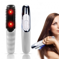 High Quality Electric Wireless Infrared Ray Anti Hair Loss Growth Vibration  Massager Brushes as picture normal