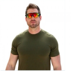 HD Car Driving Sunglasses Night Vision Wrap Arounds Yellow Lens Over Unisex Glasses