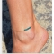 Pendant Anklet Foot Chain For Woman Summer Bracelet Charm r Anklets Foot Jewelry Gift as picture one size