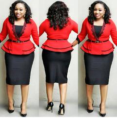 2019 New  Women Business Suits Office Ladies OL Clothes Work Wear Slim Platform blue l
