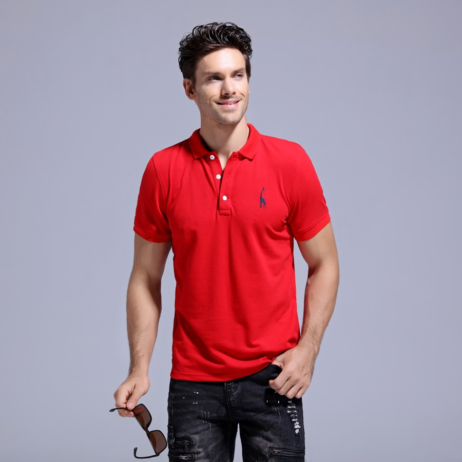 6539c2819e96 Tops Type Polos Gender Men Sale by Pack No Decoration Embroidery Pattern  Type Solid Sleeve Length(cm) Short Style Casual Type Regular Material Cotton