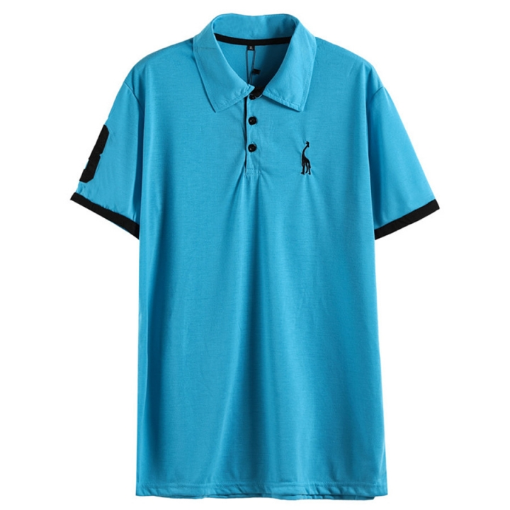 41c047371676 Kilimall: GustOmerD Summer 100% Cotton Polo Shirt Men Short Sleeve T ...