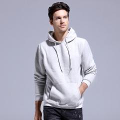 GustOmerD New Men Hoodies Fashion Cotton Hoody Mens Sweatshirt Warm Casual Hooded Jacket white size S 50 to 58kg