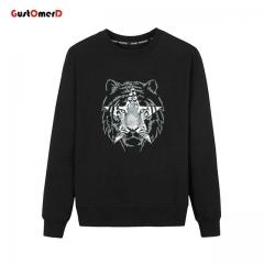 New Fashion Men Hoodies 3d Sweatshirt Men Tracksuit Cotton Pullover Casual Mens Clothing black size m 50 to 58kg