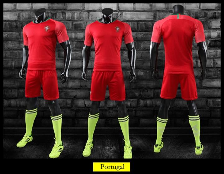 a5fa61058 2018 Russia World Cup Tshirt Portugal National Home Uniforms Football Fans  Sport Tshirts Portugal size l