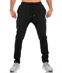 Mens Joggers New Sweatpants Men Streetwear Fashion Drawstring Pocket male trousers Casual Pants black M