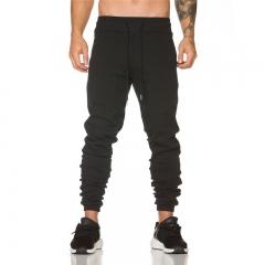 GustOmerD  Casual Wear Pant Fashion 2018 Mens Joggers Sweatpants Hip Hop Track Pants Brand Trousers black m