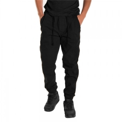 GustOmerD Cotton Sweatpants Slacks Casual Jogger baggy Sportwear Veralls Pantalon Homme Hot Bomber black m
