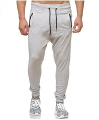 GustOmerD Sweatpants Leisure Cultivate Morality Men's Trousers Pantalon Homme Tactical Pants light gray m