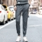 GustOmerD Spring New Sweatpants Loose Fit Trousers Mens Joggers Sportwear Pants grey L waist 30 to 31