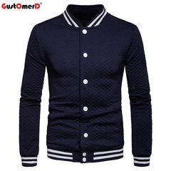 GustOmerD Men Coat Fitness Sportswear Button Casual Long Sleeve Punk Rock Jackets Coat Clothing navy size s 45 to 50kg