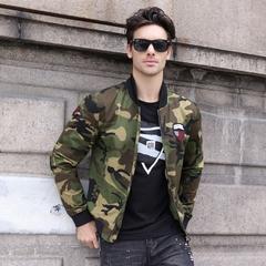 GustOmerD 2018 New Camouflage Military Jacket Men Army Bomber Jacket Men Fashion Male Jackets Coats black size M 50 to 58kg