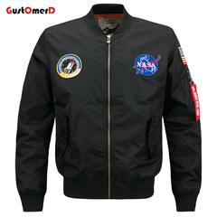 GustOmerD Waterproof Jacket Men Stand Collar Alphabet Printing Men Coat New Fashion Jacket For men black size 4xl 88 to 95kg