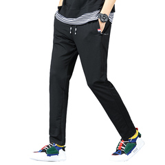 GustOmerD Spring New Sweatpants Loose Fit Trousers Mens Joggers Sportwear Pants black M