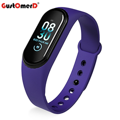 GustOmerD Smartwatch Men Women Heart Rate Monitor Blood Pressure Tracker Watch For IOS Android M4a Dark Blue one fit all