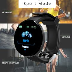 Smart Watch Heart Rate Watch Smart Wristband Sports Watches Smart Band Men Women Smartwatch Android black one fit all