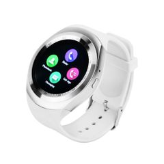 Smart Watch Bluetooth Smartwatch Touch Screen Cell Phone Watch Sleep Monitor Unlocked Watches white one fit all